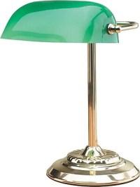 Catalina Lighting Bankers Lamp, 60W, Brass | Staples