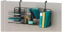 Safco Gridworks Cubicle Organizer, Charcoal, Each (4100CH ...