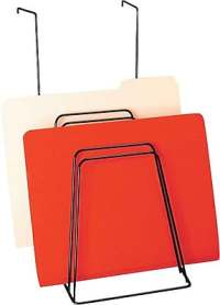 Staples Cubicle/Partition Hanging Step File Organizer ...