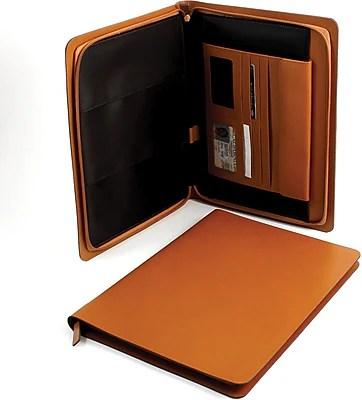 leather resume portfolio staples
