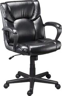 Staples Montessa II Luxura Managers Chair, Black | Staples