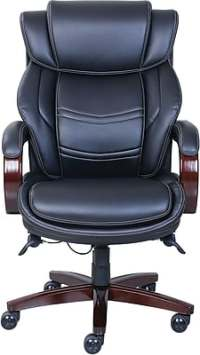 La-Z-Boy Dresden Leather Executive Office Chair, Fixed ...