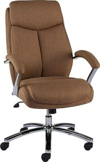 Staples Fayston Fabric Home Office Chair, Tan | Staples