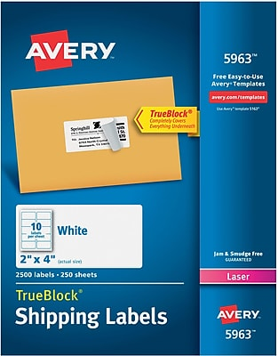 avery labels 5963