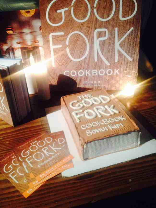 The Good Fork Cookbook - and cake!
