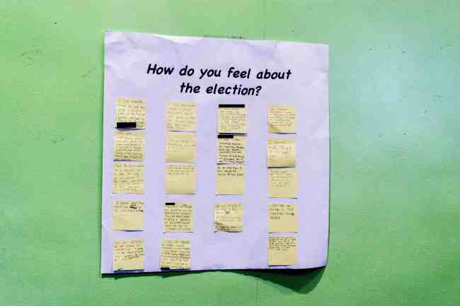 Some reflections on the election results from students at Summit Academy.