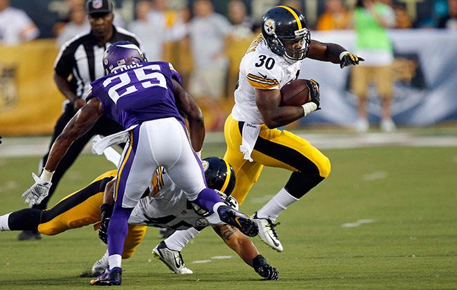 Vikings top Steelers 14-3 in Hall of Fame game