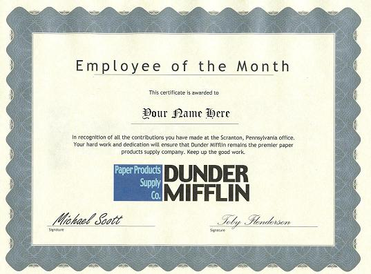 company certificate for employee - Minimfagency
