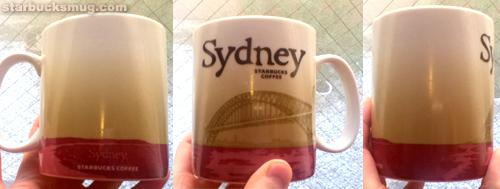 Starbucks Coffee Sydney Australia City Mug