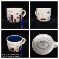2016 You Are Here Boston | Starbucks Ornament