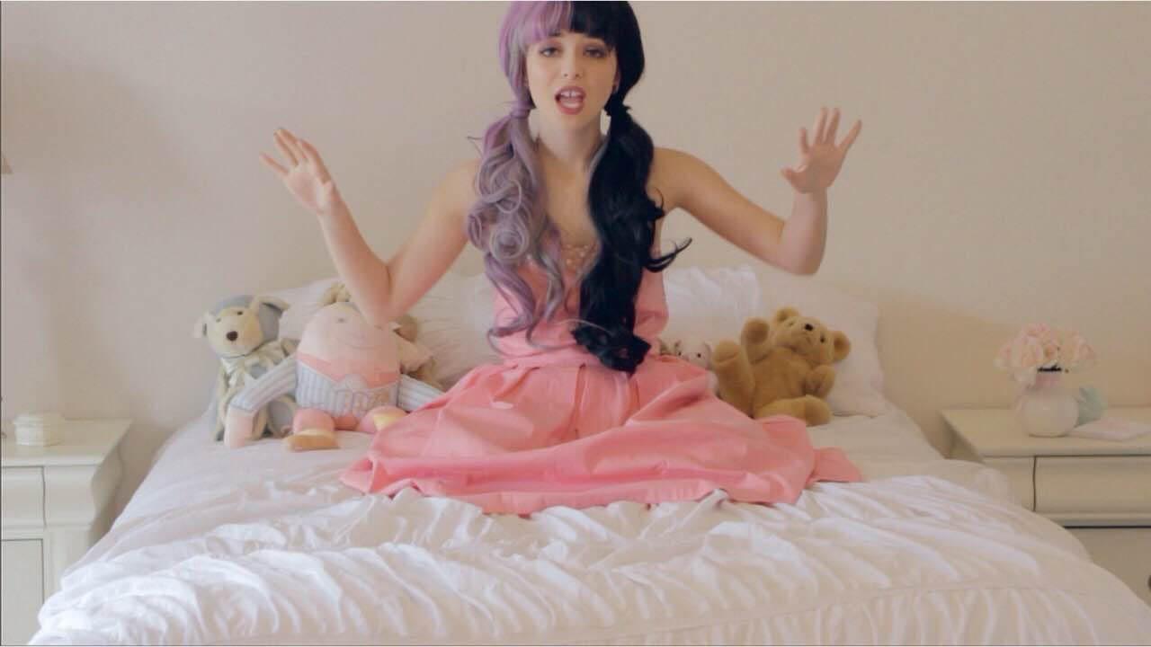 Sweet 16 Girl Wallpaper Melanie Martinez Pink Knee Length Sweet 16 Celebrity Dress