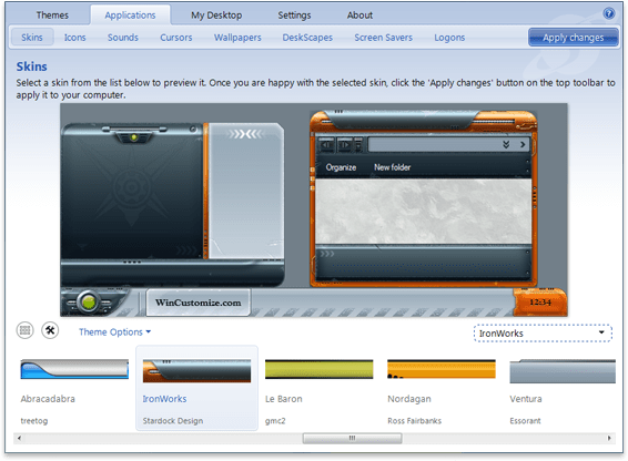 Stardock Animated Wallpaper Theme Manager Manage Windows Themes