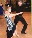 Joe in dance lessons