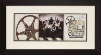 """""""The End"""" Framed Theater Wall Art"""