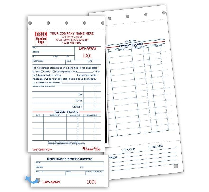Layaway Agreement Form Olala Propx Co - OneLetterCO