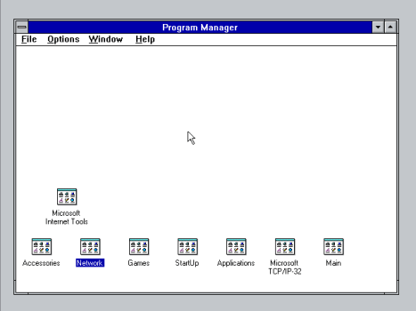 Windows Program Manager