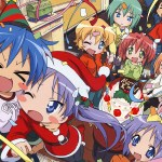 lucky star - christmas group (everyone)
