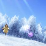 kanon - ayu running in snow