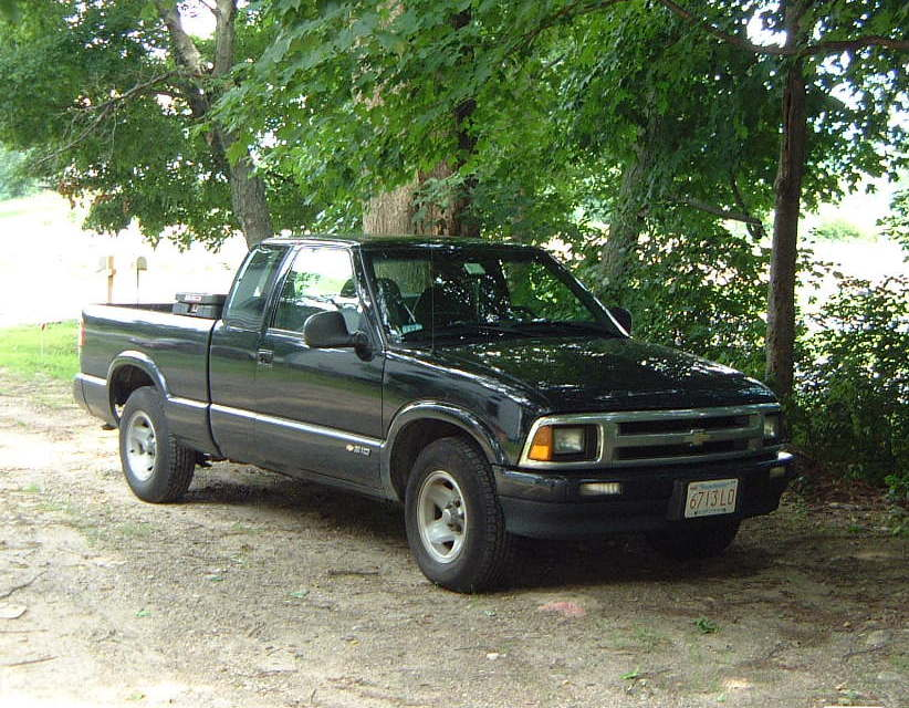 Behind the Wheel: 1996 Chevrolet S-10