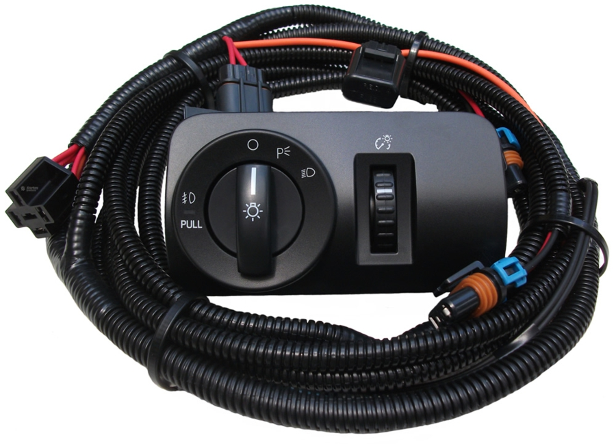 V6 Mustang Fog Light Wiring  Switch Kit (2005-2009) \u2013 Starkey Products