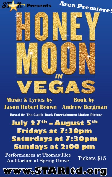 Honeymoon in Vegas Poster