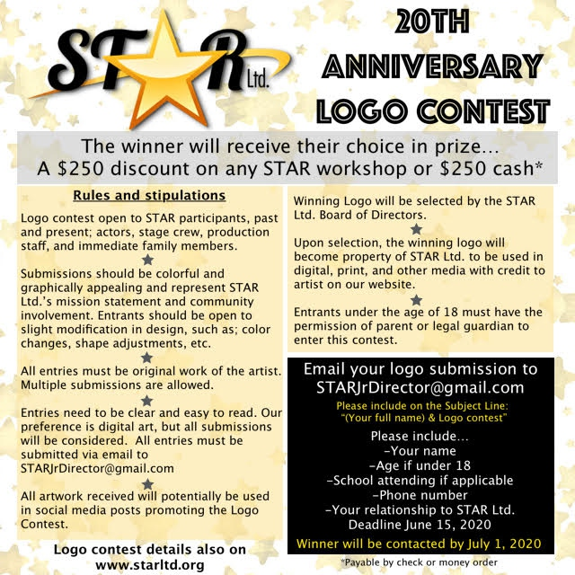 20th Anniversary Logo Contest details