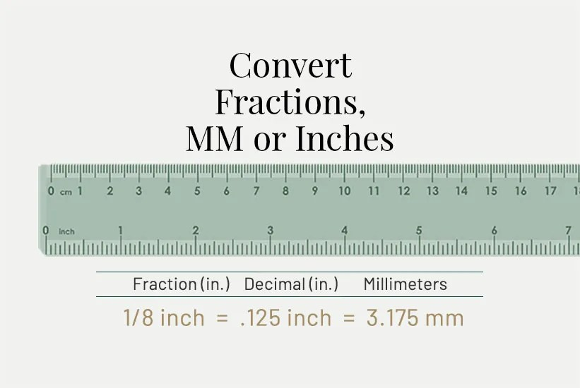 Convert Inches to MM and Convert MM to Inches Star Print Brokers