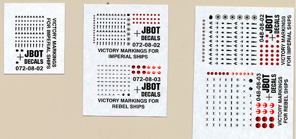 Starship Modeler - J-BOT Decals Review