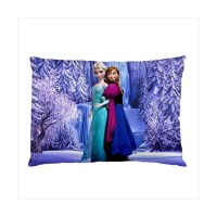Disney Frozen Elsa And Anna - Pillow Case - Stars On Stuff