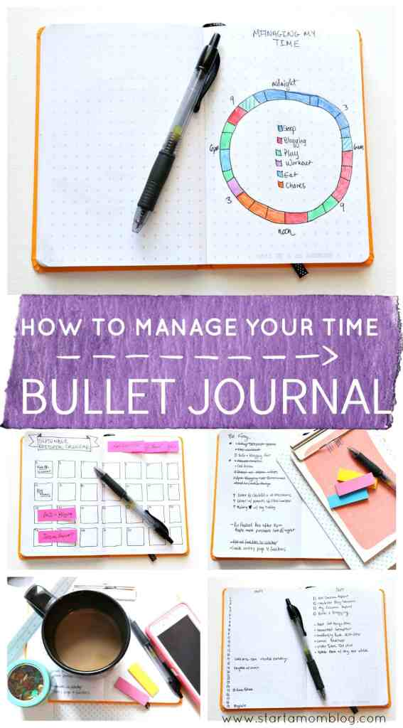 How to start a bullet journal for time management