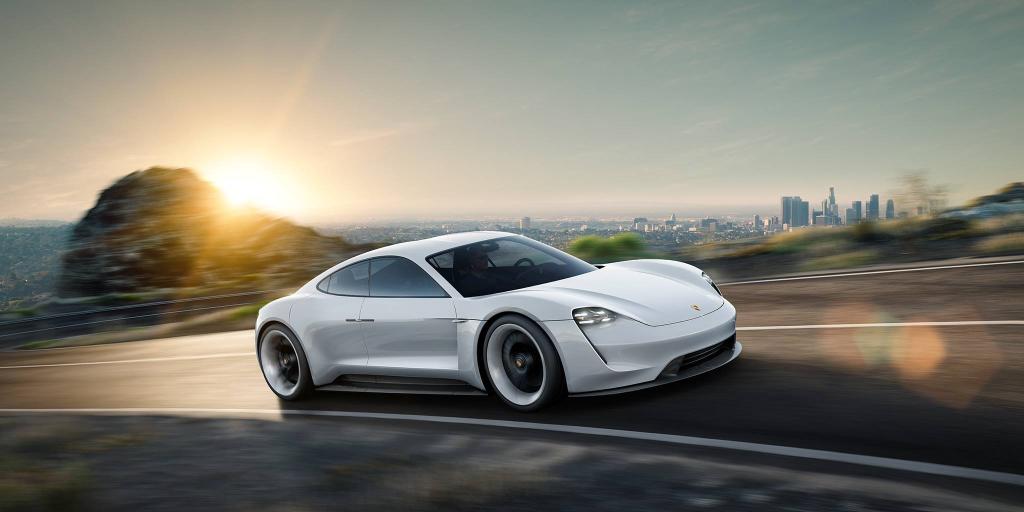 Aj 3d Wallpaper Porsche Mission E Concept La Belle Surprise Du Salon De