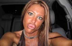 Pouting your lips does not necessarily make you pretty.