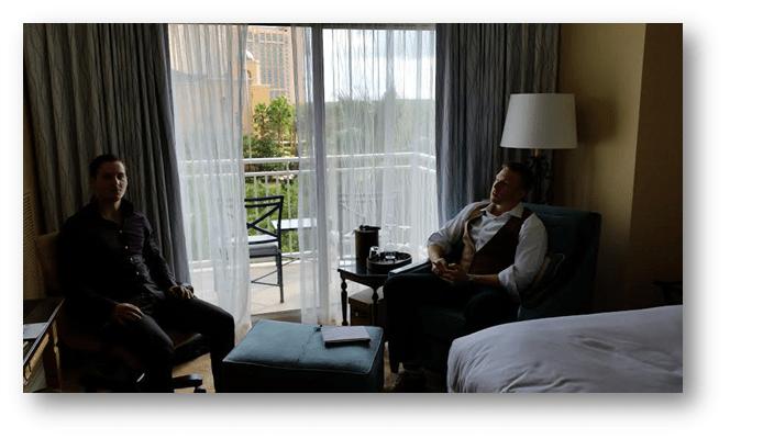 Ludvig Sunström SGM and Kyle Eschenroeder Startupbros Ritz Carlton vlog