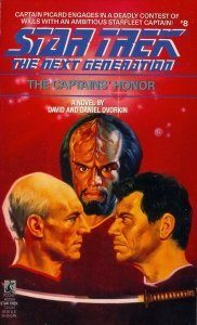 """""""Star Trek: The Next Generation: 8 The Captain's Honor"""" Review by Deep Space Spines"""