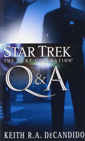 Star Trek The Next Generation Q&ampA Review by Boldlygo