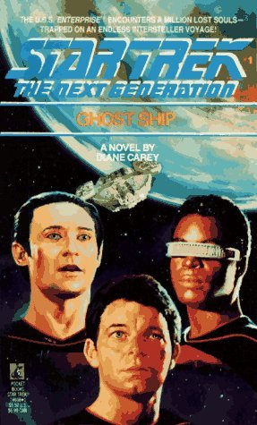 """Star Trek: The Next Generation: 1 Ghost Ship"" Review by Trek Lit Reviews"