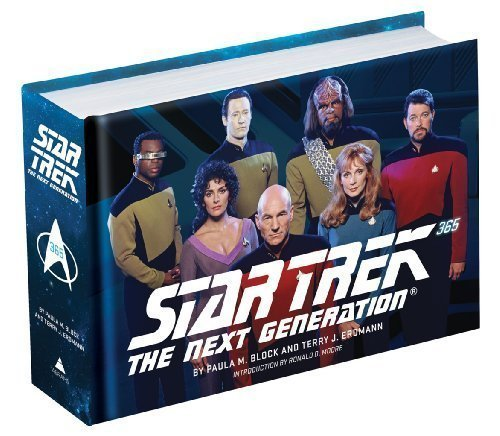 Star Trek Book Deal Alert Star Trek The Next Generation 365