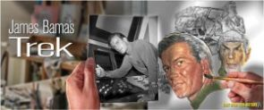 StarTrek.com's Feature on James Bama, noted Star Trek Artist