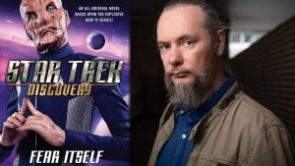 "Author Sighting: James Swallow interview on TrekMovie.com for ""Star Trek: Discovery: Fear Itself"""