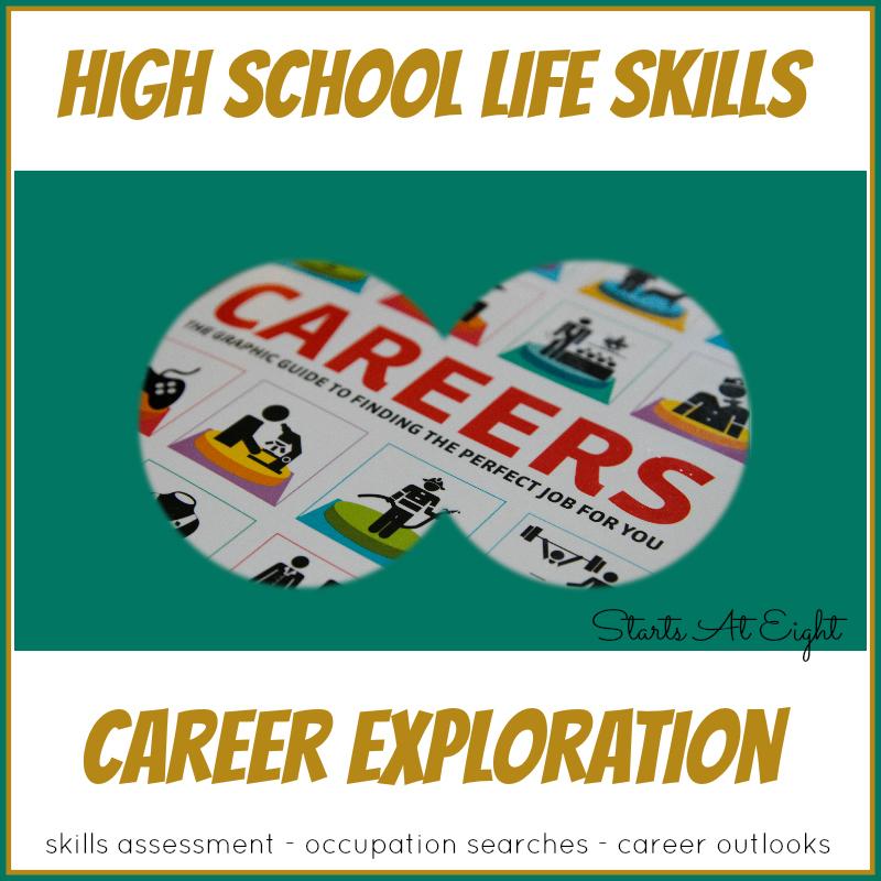 High School Life Skills Career Exploration - StartsAtEight