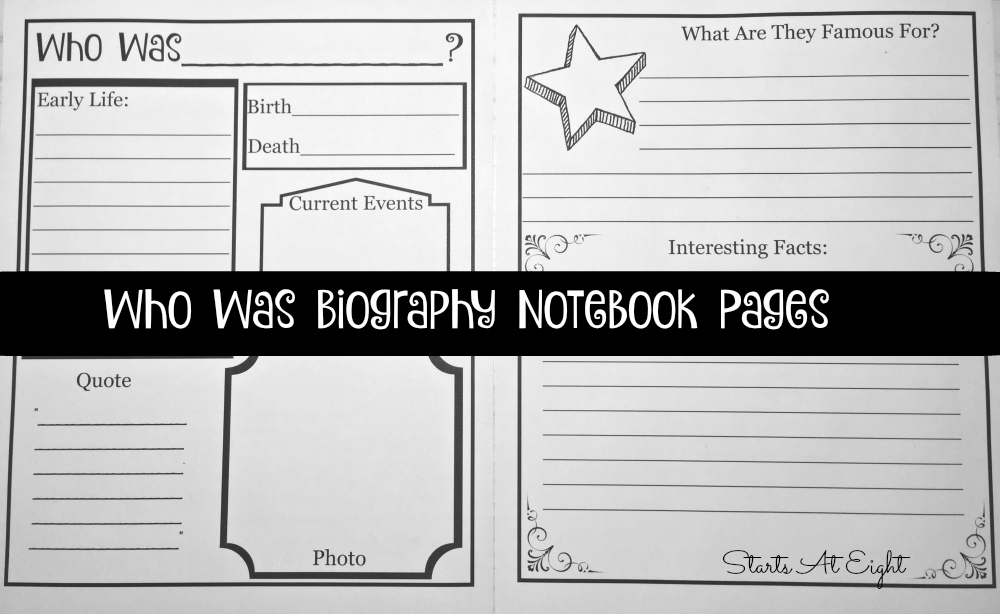 Using the Who Was Series Biographies for Homeschool History {With