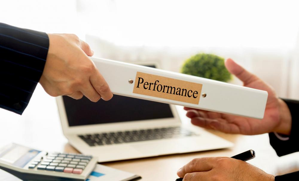 Staff appraisal form template Startup Donut - format of performance appraisal form