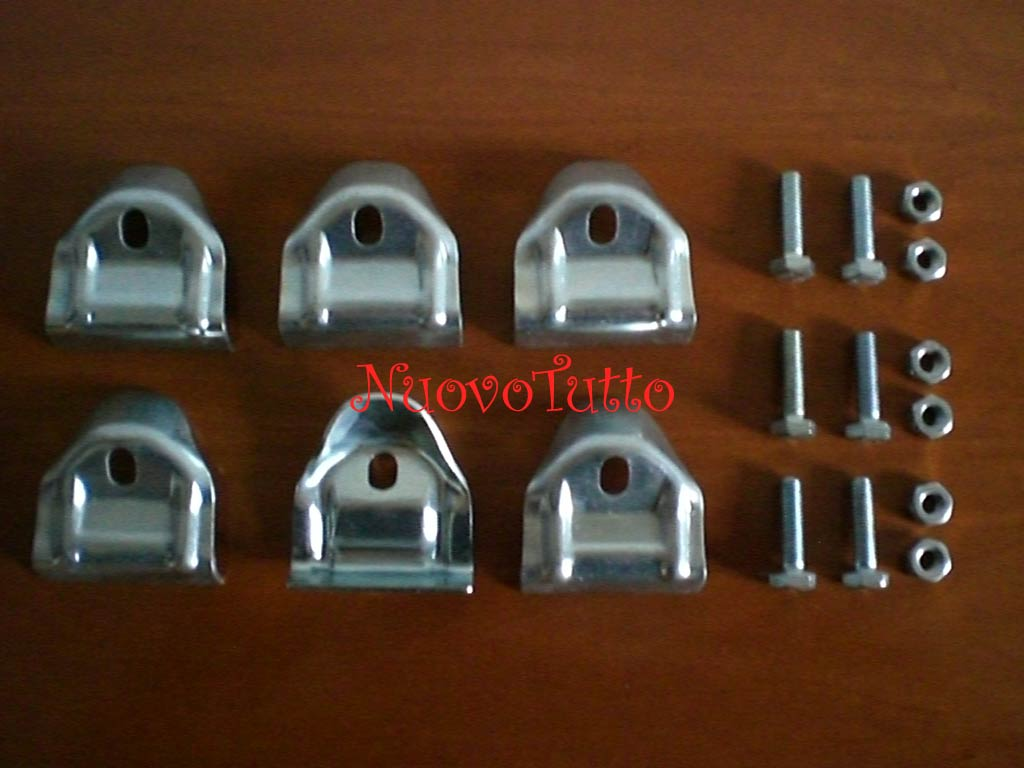 Vw Bus T1 T2 Samba Roofrack Clamps Westy Roof Rack New Ebay