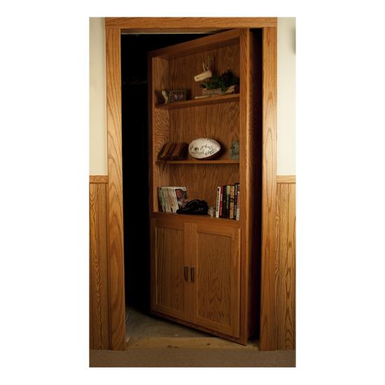 Custom Hidden Bookcase Door Stashvault