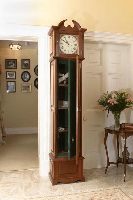 Grandfather Clock Gun Safe Stashvault