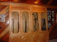 Sliding Gun Cabinet Door   StashVault