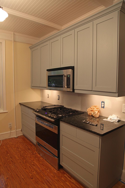 painting ikea kitchen cabinet doors drawer fronts ikea cabinets kitchen Installed Painted Cabinets