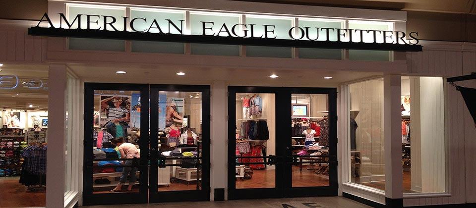 American Eagle Store Interior