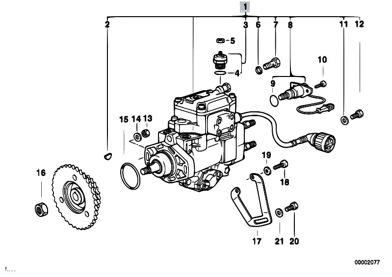 bmw e36 fuel pump diagram