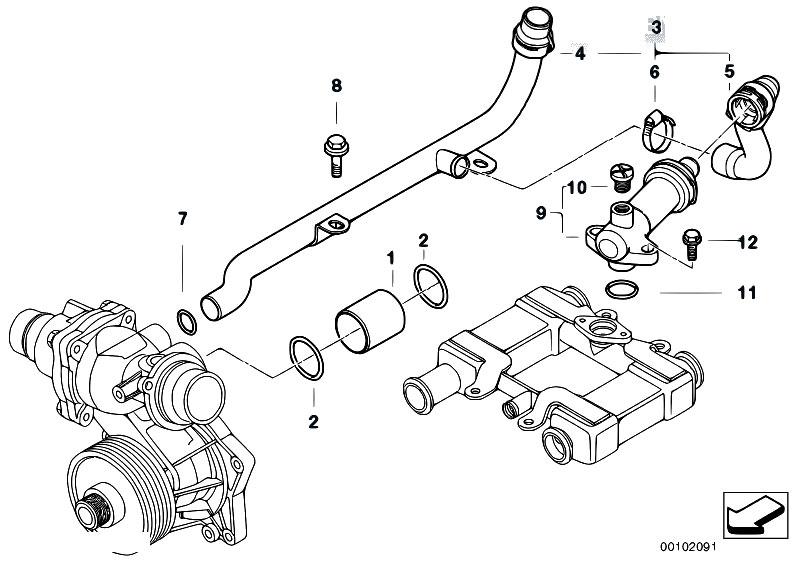 bmw e38 engine diagram